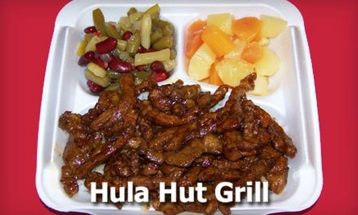 Hula Hut Grill In Spokane Washington Groupon