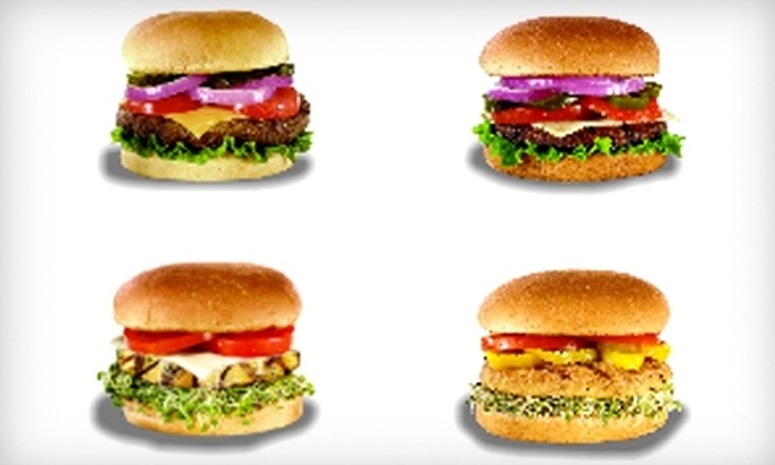 Your Burger - Multiple Locations: $10 for $20 Worth of Burgers, Fries, and Shakes at Your Burger