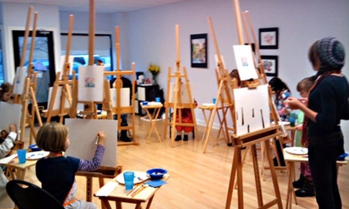 Chicago Art and Design Center - Lakeview: $89 for Five Weeks of Adult or Children's Art Classes at Chicago Art and Design Center ($180 Value)