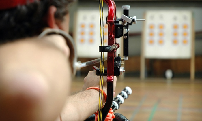 Boss Archery - Motorsports Industrial: Archery Lessons and Range Time for Two or Four at Boss Archery (56% Off)