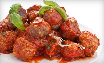 $50 Groupon for Italian Carryout Fare - La-Vera Party Center in Willoughby Hills