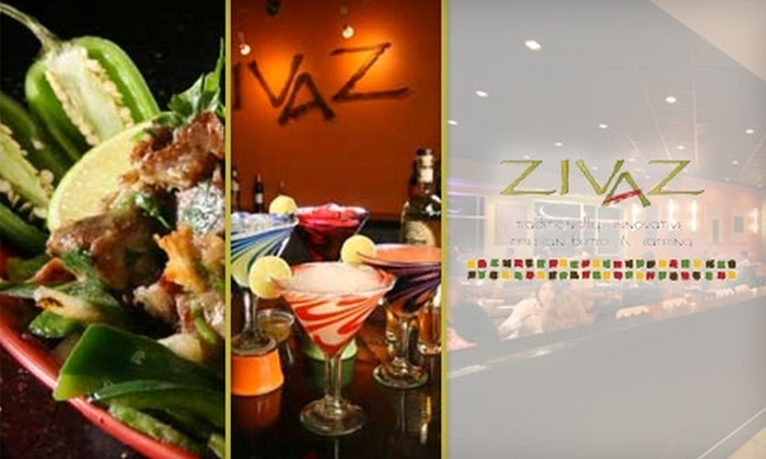 Zivaz Mexican Bistro - Ward 6: $15 for $30 Worth of Latin American Cuisine at Zivaz Mexican Bistro