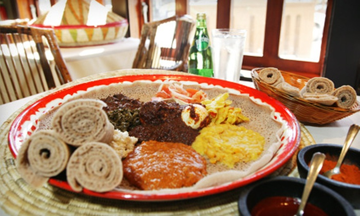 Bayu's Authentic Ethiopian Cuisine - Hillcrest: $10 for $20 Worth of Dining and Drinks at Bayu's Authentic Ethiopian Cuisine