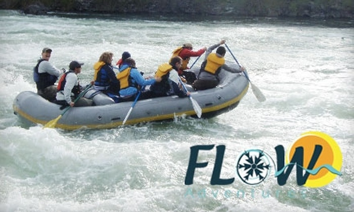Flow Adventures - Northwest Spokane: $28 for a Three-Hour Kayaking or Rafting Trip on the Spokane River from Flow Adventures ($56 Value)