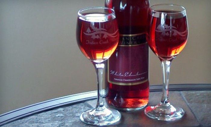 Indian Creek Winery - Georgetown: $29 for a Wine-Tasting Outing for Four at Indian Creek Winery (Up to $79 Value)
