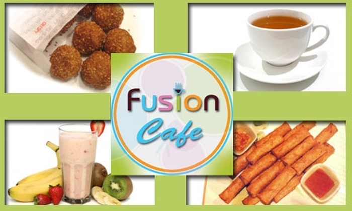 Fusion Cafe - Downtown San Jose: $4 for $8 Worth of Smoothies, Snacks, and More at SJSU Fusion Cafe