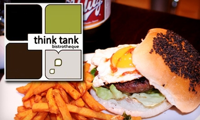 Think Tank - Wellington-Harrington: $15 for $30 Worth of Global Comfort Food at Think Tank