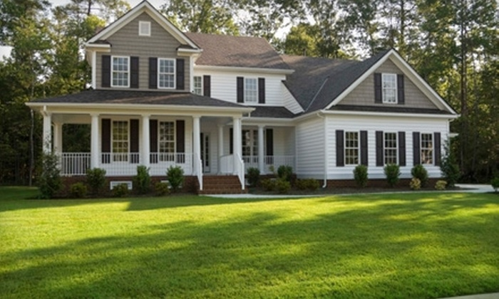 SprayTech - Oak Crest: Lawn-Maintenance Services from SprayTech. Four Options Available.