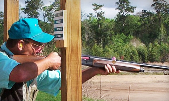 Amelia Shotgun Sports, LLC - Yulee: $30 for 90-Minute Round of Sporting Clays Including Equipment Rental at Amelia Shotgun Sports LLC in Yulee ($60 Value)