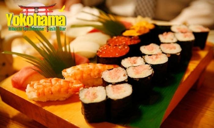 Yokohama Japanese Steakhouse - Warwick: $20 for $40 Worth of Japanese Cuisine and Drinks at Yokohama Japanese Steakhouse