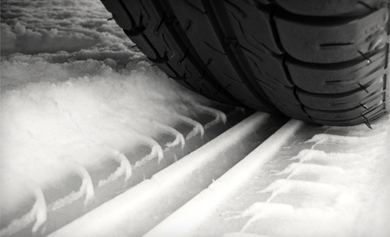 $480 Toward a Set of Four New Winter Tires, Installation, and Balancing - Fastech Performance Tire in Edmonton
