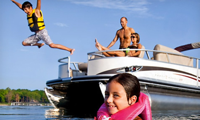 Nauti-Dayz Boat Rentals - April Sound: $32 for a One-Hour Rental of a 20-Foot Pontoon Boat at Nauti-Dayz Boat Rentals in Montgomery ($65 Value)