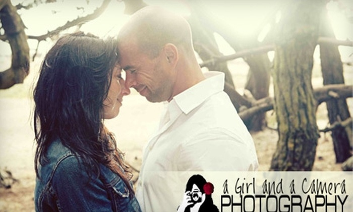 """A Girl and A Camera Photography - Downtown: $50 for a One-Hour Photo Session, One 8""""x10"""" Print, and One Digital File from A Girl and A Camera Photography ($400 Value)"""
