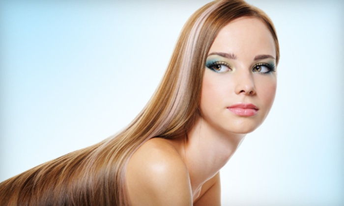 Sensibilities Salon - Hiram: Salon Services at Sensibilities Salon in Hiram (Up to 59% Off). Four Options Available.