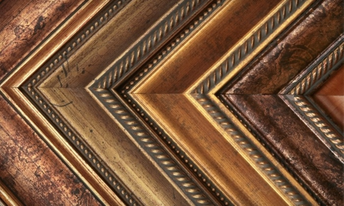 Plaza Artist Materials & Picture Framing - Multiple Locations: (DC)(1 option) $40 for $100 worth of custom framing at Plaza Artist Materials & Picture Framings-MS