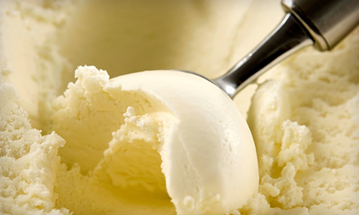 Holy Cows Creamery - Hot Springs: $10 for Five Double Scoops of Ice Cream at Holy Cows Creamery ($20 Value)