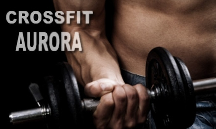 CrossFit Aurora - Coronet Addition Industrial: $39 for a One-Month Membership at CrossFit Aurora (a $120 Value)