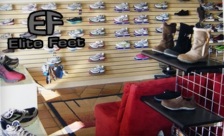 $30 Groupon to Elite Feet - Elite Feet in Edmond