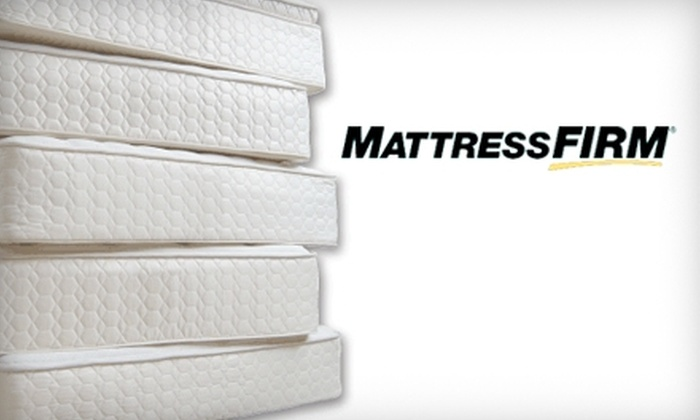 Mattress Firm - Multiple Locations: $50 for $200 Toward a Mattress at Mattress Firm