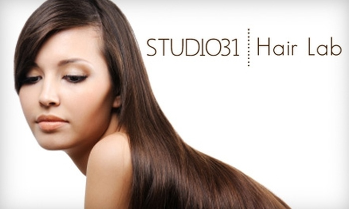 Studio31 Hair Lab - Neartown/ Montrose: Your Choice of Salon-Service Package at Studio 31 Hair Lab. Choose Between Two Options.