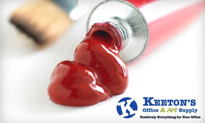 Keeton's Office & Art Supply - Downtown Bradenton: $25 for $50 Toward Office Furniture and Art Supplies at Keeton's Office & Art Supply in Bradenton