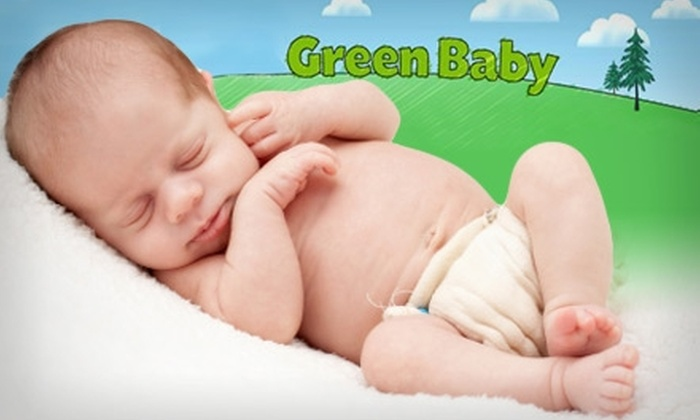 Green Baby Diaper Service  - Dallas: $39 for One Month of Diaper Delivery and Pick-Up Service from Green Baby Diaper Service