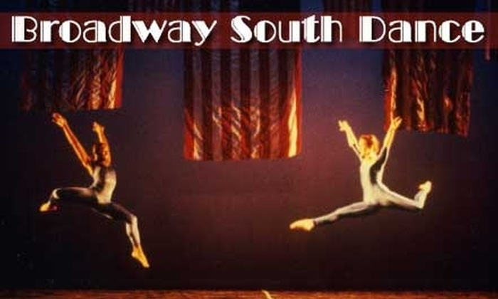 Broadway South Dance - Multiple Locations: $25 for Four-Week Dance Class at Broadway South Dance ($50 Value)