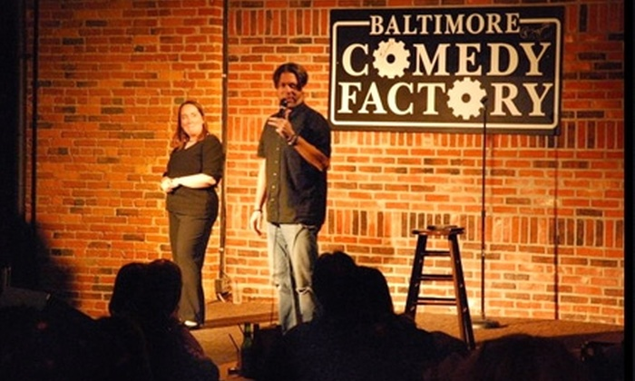 Baltimore Comedy Factory - Downtown: $15 for Two Tickets to Baltimore Comedy Factory ($34 Value)