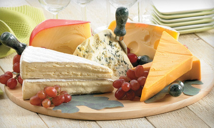 Giant Eagle - Erie: $10 for $20 Worth of Specialty and Gourmet Cheeses at Giant Eagle