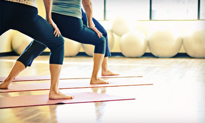 NC Yoga - Brown Road: One Month of Unlimited Yoga Classes or 20 Drop-In Yoga Classes at NC Yoga (Up to 61% Off)