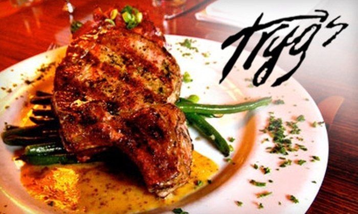 Tryg's - Cedar-Isles-Dean: $25 for $50 Worth of Upscale American Fare and Drinks at Tryg's