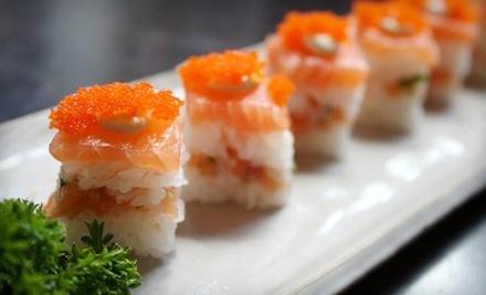 $30 Groupon to Sakura Japanese Steakhouse - Sakura Japanese Steakhouse in Greenville