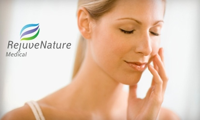 RejuveNature Medical - Glendale: $35 for Anti-Aging Facial Treatment with Ultrasound Therapy and Add-On Mask at RejuveNature Medical in Glendale