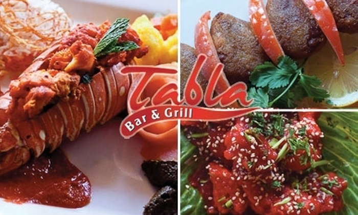 Tabla Bar and Grill - Florida Center: $20 for $40 Worth of Indian Flavors at Tabla Bar and Grill