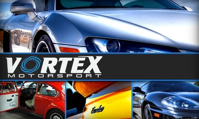 Vortex Motorsport - Northwest Tampa: $50 for a Deluxe Detailing Service at Vortex Motorsport
