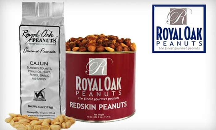 Royal Oak Peanuts: $10 for $25 Worth of Virginia Peanuts and Peanut Candy from Royal Oak Peanuts