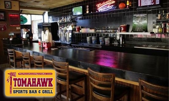 Tomahawk Sports Bar & Grill - Tallahassee: $7 for $15 Worth of Pub Fare and Libations at Tomahawk Sports Bar and Grill