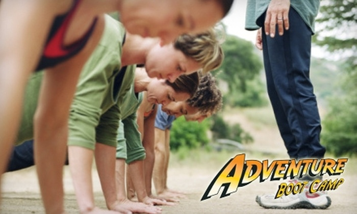 Michigan Adventure Boot Camp - Multiple Locations: $35 for Five Boot-Camp Sessions, 14-Day Meal Plan and Custom Dog Tags at Michigan's Adventure Boot Camp for Women ($102.91 Value)