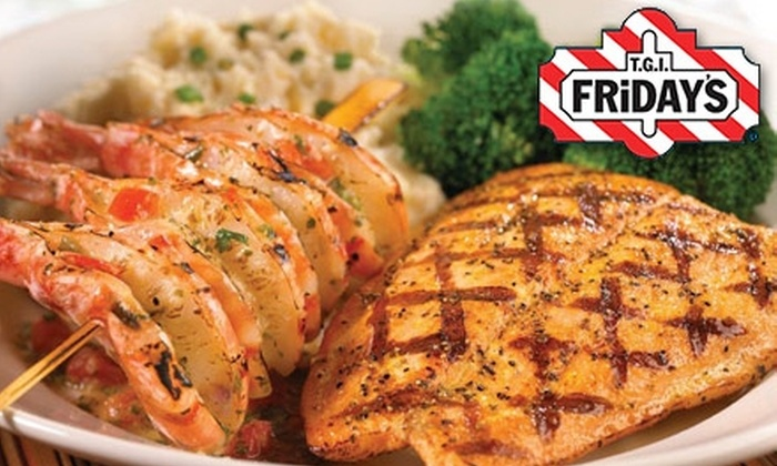 T.G.I. Friday's - Central Omaha: $10 for $20 Worth of Fare With Flair and Drinks at T.G.I. Friday's