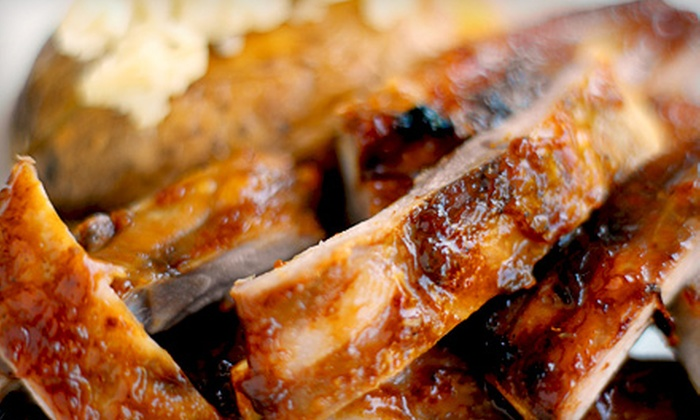 Smokey's BBQ - Madison: $8 for $16 Worth of Barbecue Fare and Drinks at Smokey's BBQ
