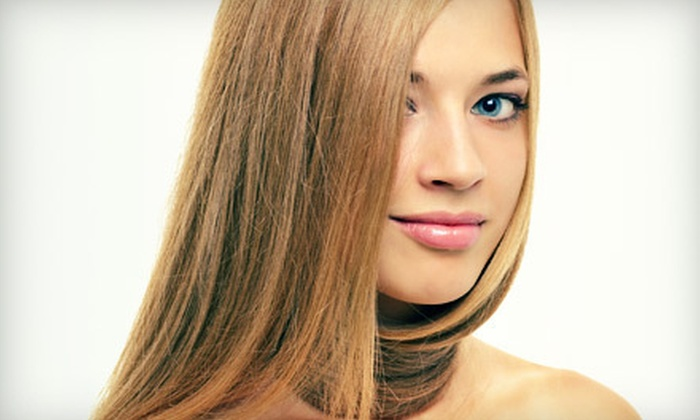 Rodney Mitchell Salon - Multiple Locations: Keratin Treatment with Option of Cut and Style at Rodney Mitchell Salon (Up to 80% Off)