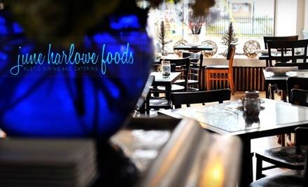 $35 Groupon to June Harlowe Foods - June Harlowe Foods in Toronto