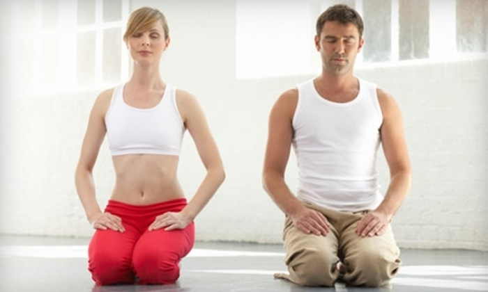 Shapes Yoga Studio - Monroe: $20 for One Month of Unlimited Yoga Classes at Shapes Yoga Studio in Monroe ($60 Value)