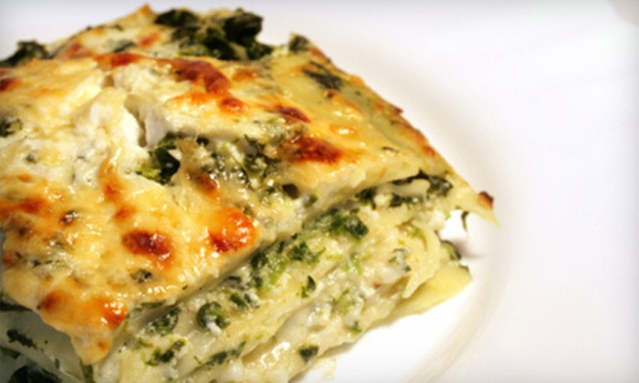 Rulli's - Middlebury: Italian Dinner for Two or Four or $12 for $25 Worth of Italian Fare at Rulli's in Middlebury
