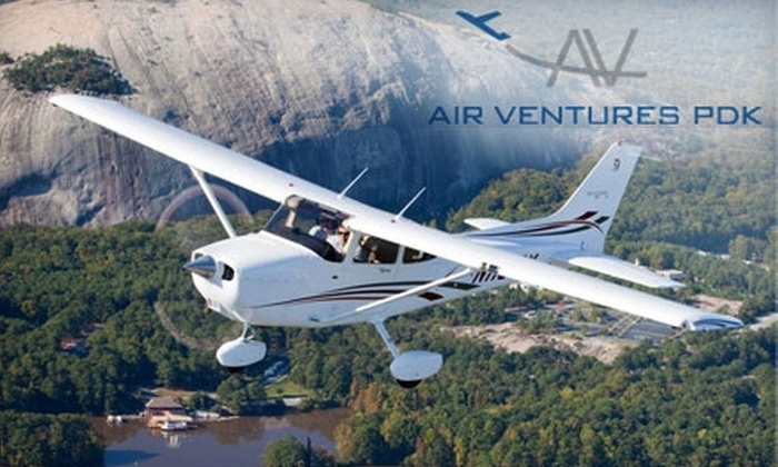 Air Ventures PDK - Chamblee: $98 for a One-Hour Introductory Flight and Lesson at Air Ventures PDK ($200 Value)