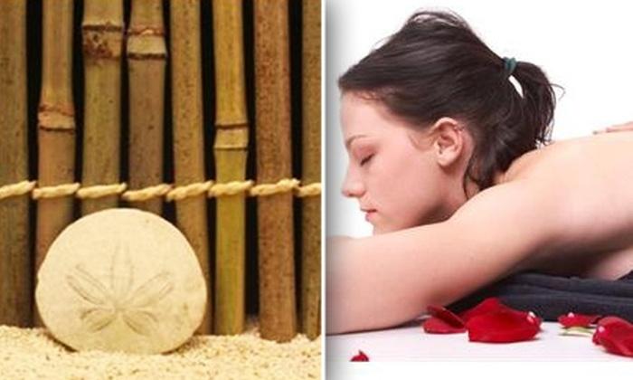 Sand Dollar Spa & Massage - University Place: $40 Skin-Rejuvenating Sugar Scrub at Sand Dollar Spa & Massage ($110 Value)