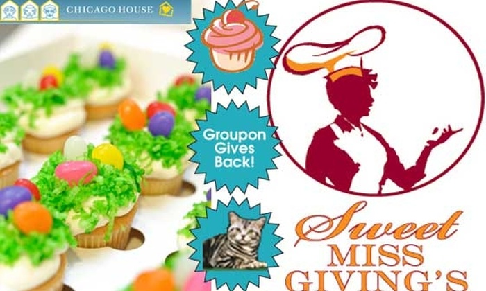Sweet Miss Giving's - Near North Side: $22 For Dozen Easter Mini-Cupcakes - Proceeds to Charity