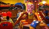 OOB Jambo! Amusement Park - Multiple Locations: $16 for an Indoor-Amusement-Park Outing for Two with Popcorn at Jambo! Park ($34.48 Value). Two Locations Available.