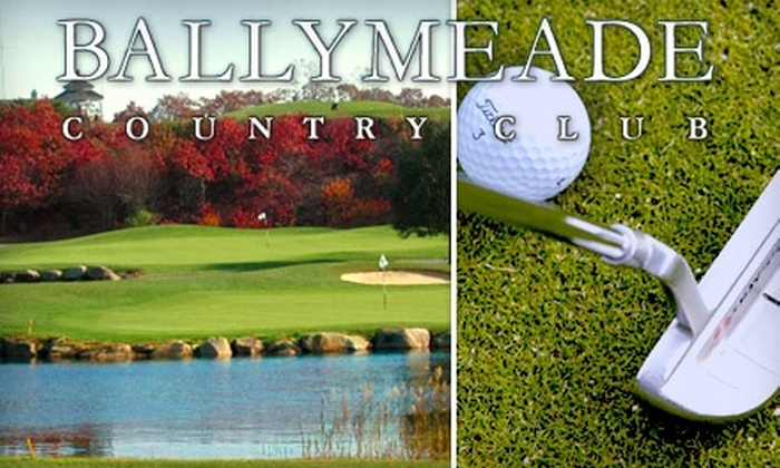 Ballymeade Country Club - Falmouth: $42 for 18 Holes of Golf Plus Golf-Cart Rental and a Bucket of Range Balls at Ballymeade Country Club (Up to an $88 Value)