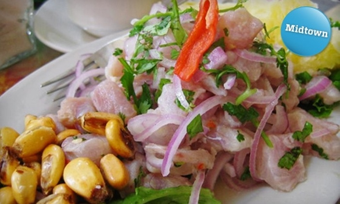 Tutuma Social Club - Midtown Center: $24 for an Authentic Peruvian Ceviche-Making Class at Tutuma Social Club ($45 Value)